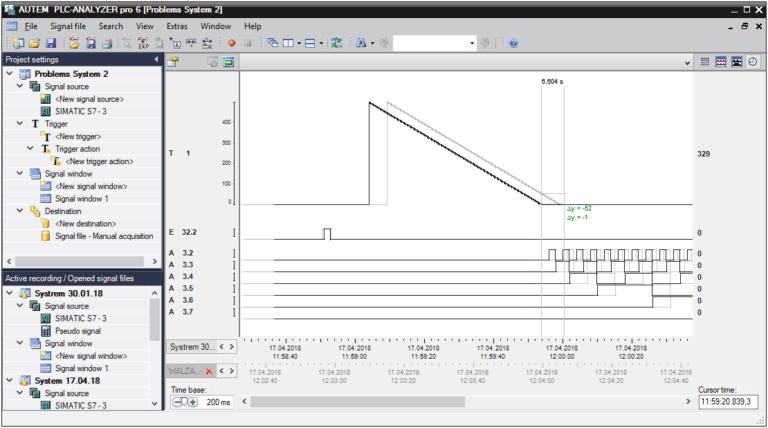 PLC-ANALYZER pro 6 - Condition monitoring_Content